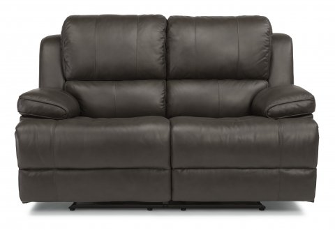 Simon Leather Power Reclining Loveseat 1831-60P in 453-70