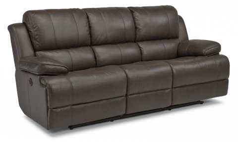 Simon Leather Power Reclining Sofa 1831-62P in 453-70