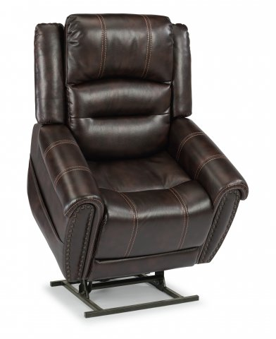 Oscar Lift Recliner with Right-Hand Control & Power Headrest 1590-55PH in 629-70
