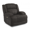 Declan Fabric Power Gliding Recliner with Power Headrest 1560-54PH in 327-02