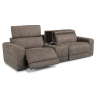 Sonic Fabric Power Reclining Sectional with Power Headrests 1430-SECTPH shown with 57PH, 73, & 58PH pieces in 744-01