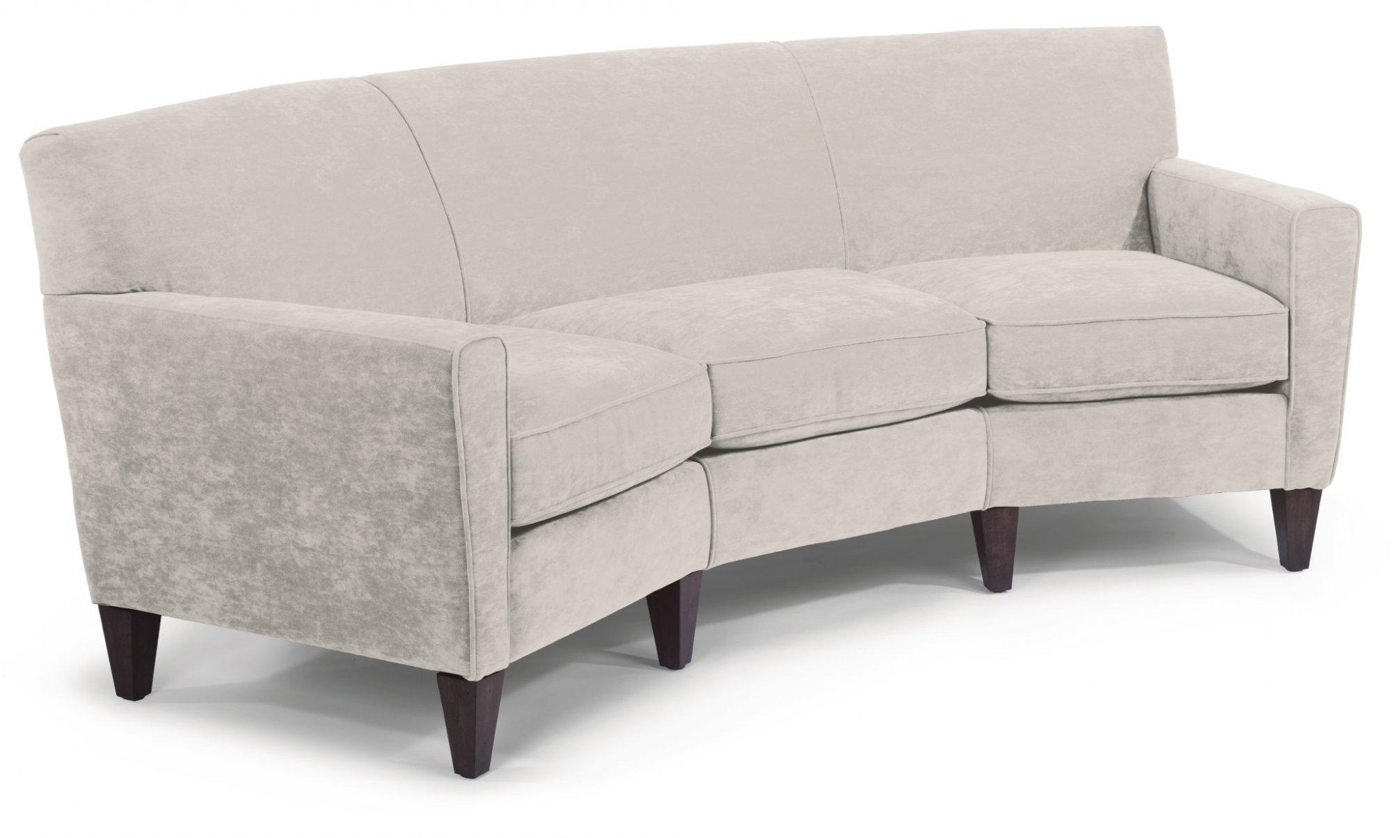 Mathis Leather Conversation Sofa