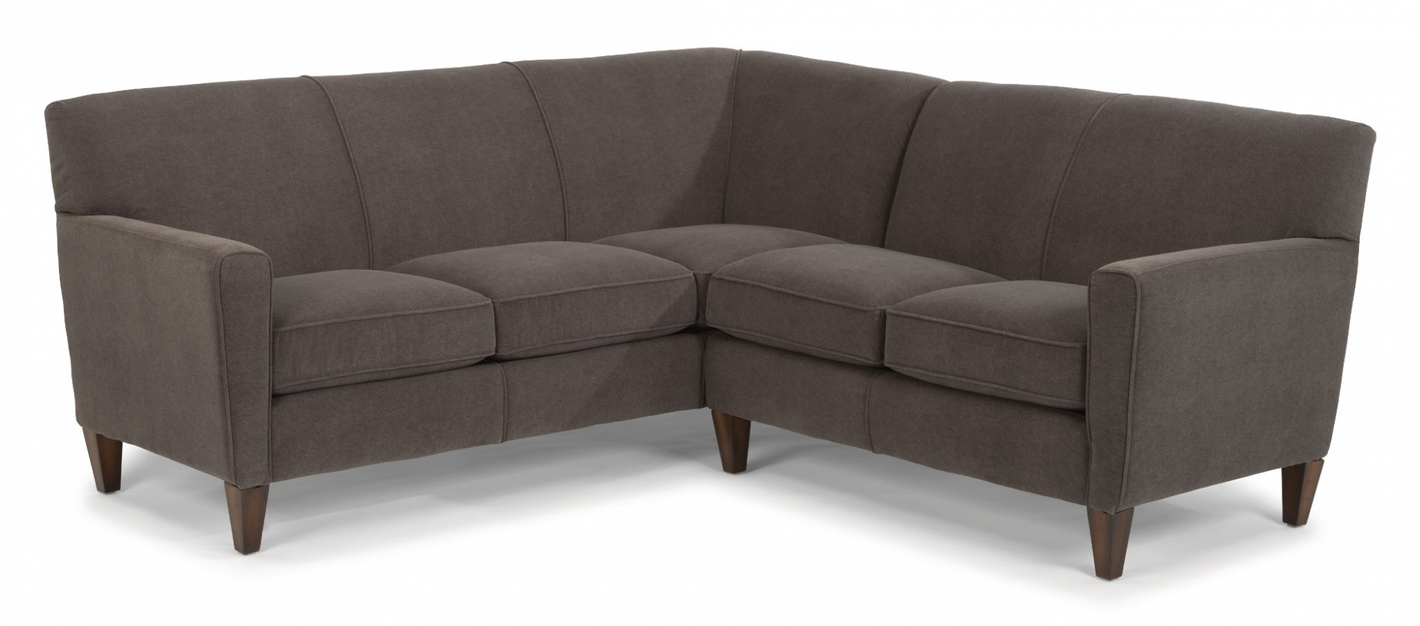 Pleasing Digby Leather High Leg Sectional Flexsteel For Home Gmtry Best Dining Table And Chair Ideas Images Gmtryco