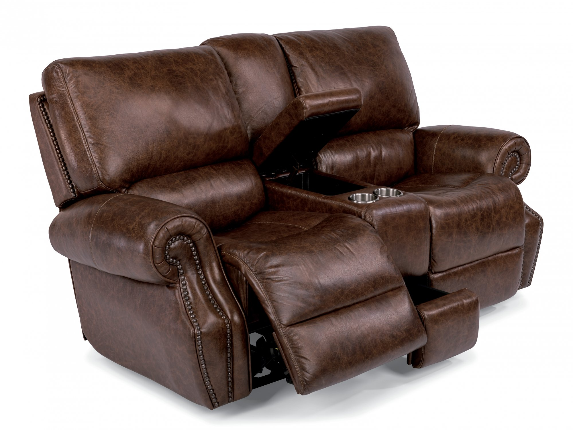 80 Inch Couch Full Size Living Roomleather Sofa With